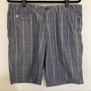 O neill shorts size 34 mens blue white casual